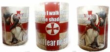 KNIGHTS TEMPLAR- ENGLAND- UK- EUROPE- CRUSADER MUG