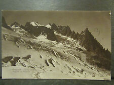cpa photo 74 chamonix col du geant editions perrochet