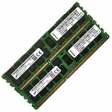 32GB (2x16GB) DDR3 1600 PC3-12800R ECC Registered CL11 240-pin Server Memory RAM