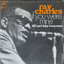 """Vinyle 45T Ray Charles  """"If you were mine"""""""