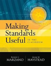 NEW - Making Standards Useful in the Classroom
