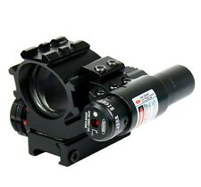 Holographic Tactical Red / Green 4 Reticles Reflex Dot Scope laser sight combo