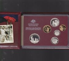2005 Australia Proof Coin Set in Folder with outer Box & Certificate *
