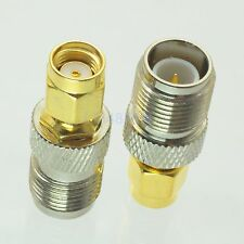 1pce Adapter RP.TNC female plug to RP-SMA jack male RF connector straight