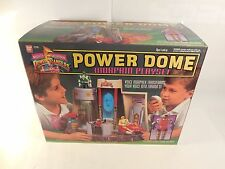COMPLETE VINTAGE MIGHTY MORPHIN POWER RANGERS POWER DOME PLAYSET W/BOX BANDAI