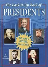 The Look-It-Up Book of Presidents (Look-It-Up Books)-ExLibrary