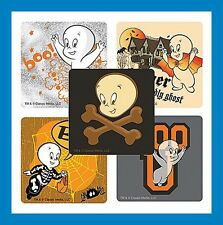 16 Casper the Friendly Ghost Stickers Halloween Party Favors