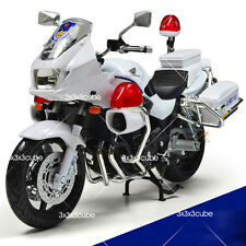 "1:12 1/12 7"" Automax Honda CB1300P Motor Diecast Model Motorcycle Police Car"