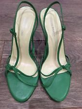 Beautiful Green River Island Strappy Heel Sandals Shoes Size 3/36 RRP £60