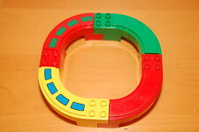 Lego Duplo Mono Rail Set Red Green and Yellow Train Track