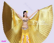 NEW Egyptian Egypt Belly Dance Dancing Costume Isis Wings Dance Wear Wing FLV