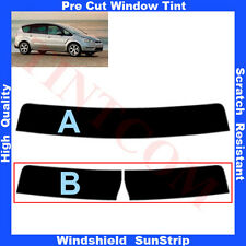 Pre Cut Window Tint Sunstrip for Ford S-Max 5 Doors 2006-2011 Any Shade