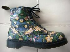 DOC DR. MARTENS LIBERTY STRAWBERRY THIEF BOOTS RARE VINTAGE UNISEX 7UK US: W9 M8