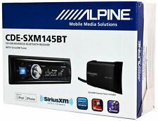 Alpine CDE-SXM145BT CAR RADIO/RECEIVER/CD/MP3/USB/SIRIUS XM/ BLUETOOTH/PANDORA