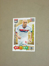 CRIS OL LYON LYONNAIS SUPERSTAR Trading card carte ADRENALYN PANINI 2011-2012