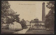 Postcard MIDDLETOWN Ohio/OH  City Water Works Purification Factory/Plant 1907