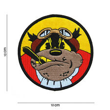 Us Army Patch Flying Bulldog USMC VMS vmf-214 Scout imponente Squadron wk2 WWII