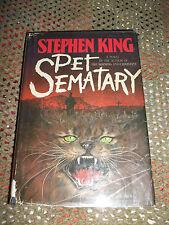 STEPHEN KING ~ PET SEMATARY ~ 1ST EDITION