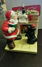 Coca Cola Holiday Portrait SALT & PEPPER SHAKERS! 2002!!NEW IN BOX.
