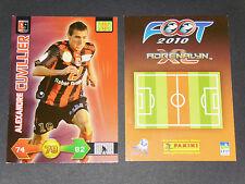 ALEXANDRE CUVILLIER US BOULOGNE-SUR-MER PANINI FOOTBALL ADRENALYN CARD 2009-2010
