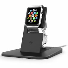 Twelve South HiRISE Soporte de carga/Cuna Cargador para Apple Watch iWatch Negro