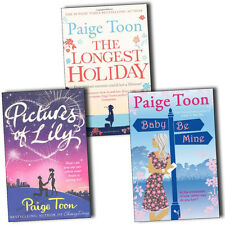 Paige Toon Baby Be Mine, Pictures of Lily,The Longest Holiday 3 Books Collection