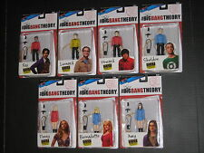 BIG BANG THEORY COMIC CON EXCLUSIVE 3 3/4 INCH STAR TREK ORIGINAL SERIES FIGURES