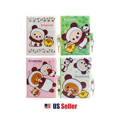San-x Rilakkuma Secret Locking Journal Diary with Lock and Keys : Panda (Random)