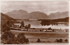 Loch Leven & Sleeping Chancellor From Above Hotel, GLEN COE, Argyllshire RP