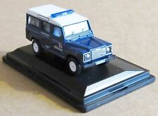 OXFORD DIECAST LAND ROVER DEFENDER STATION WAGON RNLI 1:76 SCALE LIFEBOATS CAR