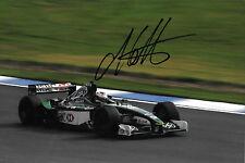 Andre Lotterer SIGNED   F1 Jaguar R2  Test Driver  Silverstone 2001