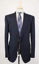 NWT. ERMENEGILDO ZEGNA Couture Navy Blue Wool 1 Button Suit 56/46 R Drop 7 $4995