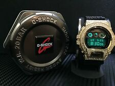 Casio G Shock G-Shock Dw-6900Cr-1Er Uhr Watch Crocodile Edition GOLD Super Rare