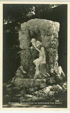 Alte Ansichtskarte Postkarte Österreich Klagenfurt Nixenbrunnen im Schillerpark