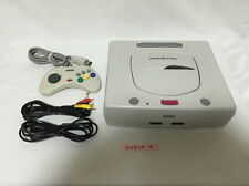 [Free EMS Very fast] Sega Saturn White Console System Japan SS [Play Now]