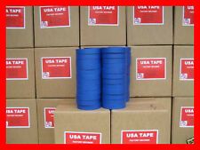 """Lot Of 48 Rolls 1"""" X60 Yrd Blue Painters Masking Tape MADE IN USA    QUICK SHIP!"""