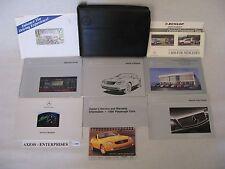 99 1999 Mercedes R170 SLK SLK230 Kompressor Owners Manuals Books Case Set # C102