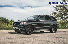 22x9 +30 Rohana RC22 5x112 Black Wheels Fits Mercedes Benz Ml350 2012 Aggressive