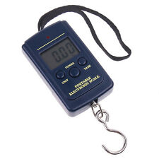40Kg x 10g Digital Fishing Hanging Luggage Weight Weighing Hook Pocket Scale