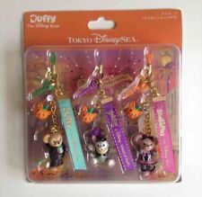 New Halloween Gelatoni, Duffy Keychains Set From Tokyo Disney SEA Japan