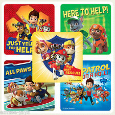 PAW PATROL Stickers x 10  Ryder,Marshall,Chase-Favours Birthday Party Loot Bags