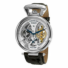 Stuhrling 127A2 33152 Men's Emperor's Grand DT Automatic Skeleton Dial Watch