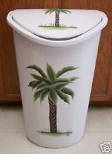 HP PALM TREE TRASH CAN/LAUNDRY HAMPER/NEW BY MB