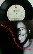 "7"" 1992 RARE MINT-! TRACY CHAPMAN : Dreaming On A World"