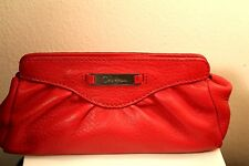 COLE HAAN SMALL PURSE/  WALLET RED 100%AUTHENTIC 100% GENUINE LEATHER MINT!