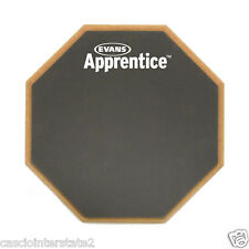"Evans Real Feel ARF7GM Single Sided Gum Rubber Apprentice 7"" Drum Practice Pad"