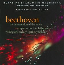 Consecration of the House & Symphony No 4, Beethoven, Rpo, Wordsworth, Good