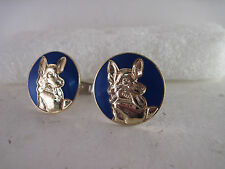 K-9     logo  pair Cufflinks      (x**c014)