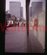 7-UP Truck Rex Hotel New York City 42nd Street Busy Scene 1964 Kodak 35mm Slide