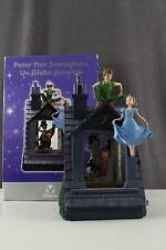 DISNEY STORE Musical Snow Globe PETER PAN You Can Fly TINKERBELL Lights Up Works
